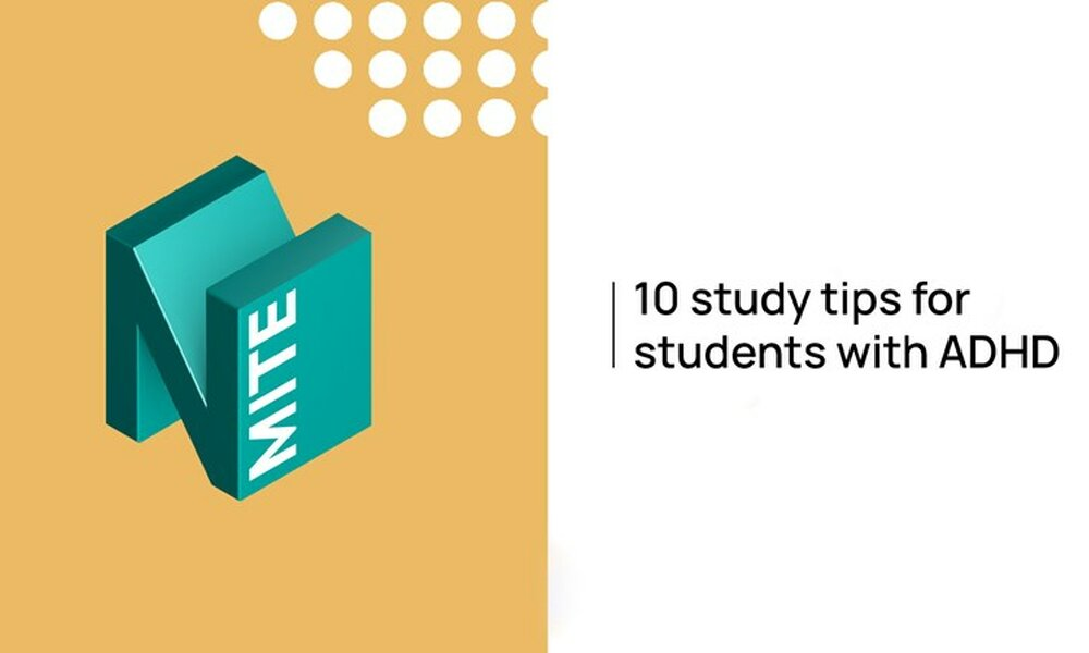 10 study tips for students with ADHD