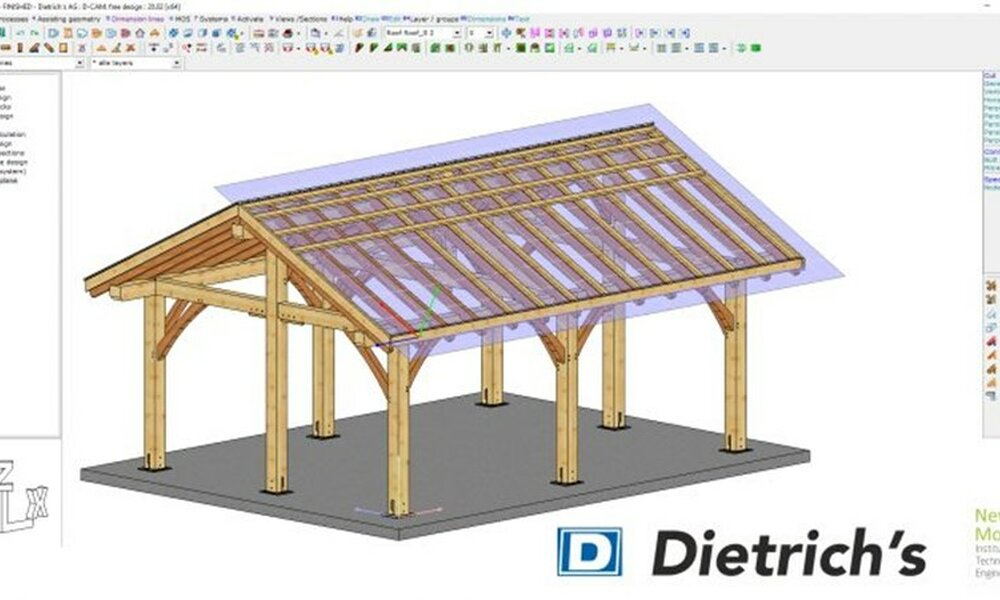 NMITE announces Dietrich's as a sponsor as plans for The Centre for Advanced Timber Technology get underway