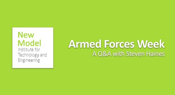 Armed Forces Week: A Q&A with Steven Haines